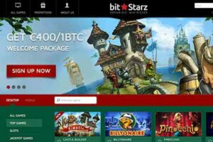Bitstarz Casino offers 400€ / 1 BTC bonus