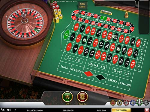 Here is an example of a Bitcoin Roulette game in mBit Casino.