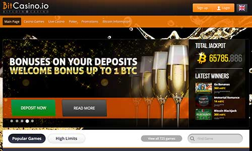 Bitcasino io lounge