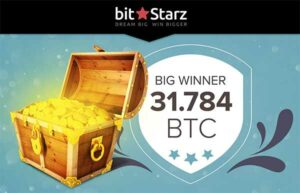 Big win with a 0.025 BTC spin at BitStarz!