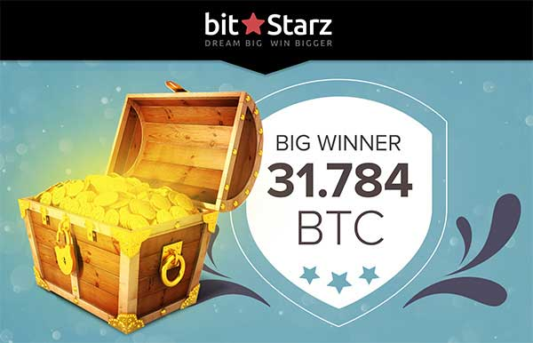 Big Bitcoin winner at bitstarz jackpot