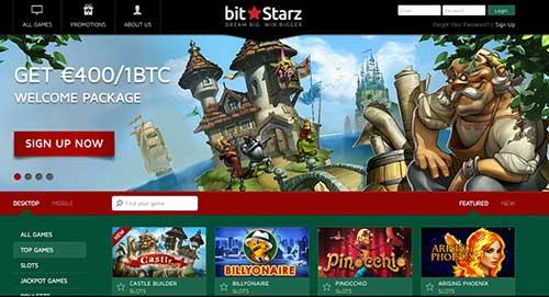 In Bitstarz btc casino you can do gambling bitcoin.