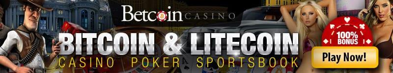 Casino, sportsbook and bitcoin poker