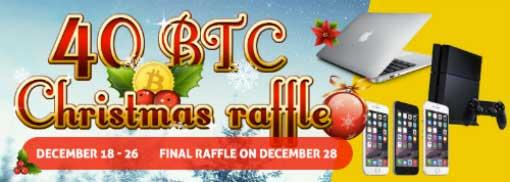 bitcasino.io christmas raffle 40 btc 2015