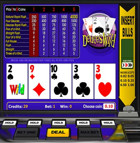 deuces wild poker is good fun