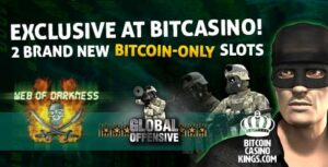 Two Brand New Bitcoin Slots in Bitcasino.io!