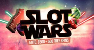 NetEnt games are back at Bitstarz, perfect for Slot Wars!
