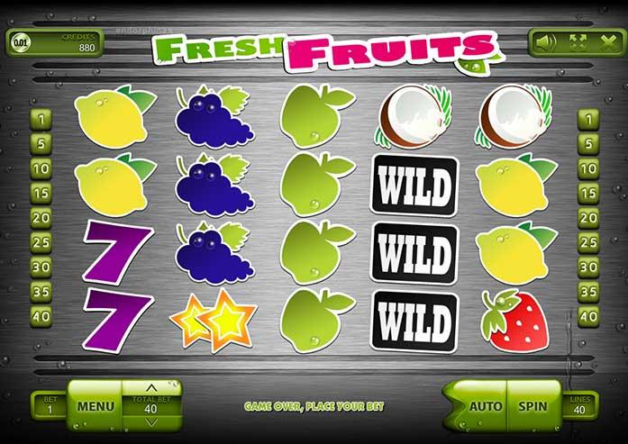 Fresh Fruits game.