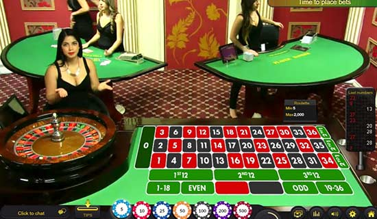 A bitcoin live casino with live dealers