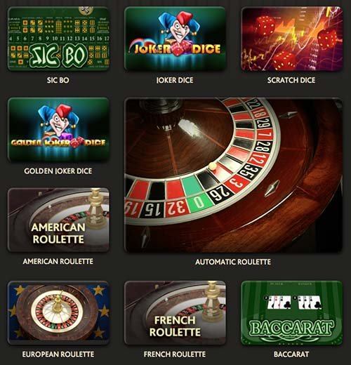 roulette, dice and baccarat in this 7bit casino review