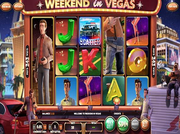 Weekend in vegas slot game
