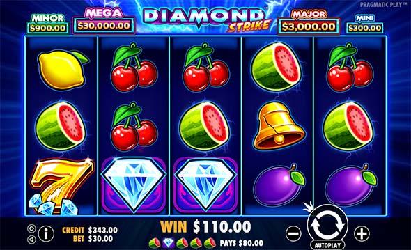 Diamond Strike casino slot game from Pragmatic Play.