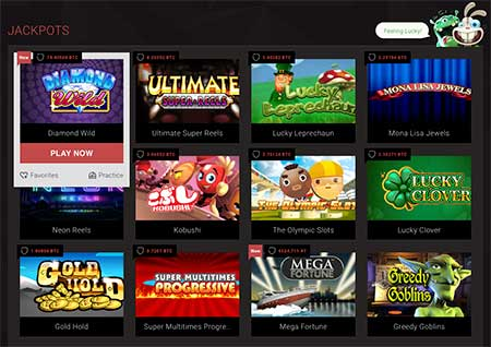 Bitstarz Casino jackpot bitcoin games list