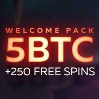 Fortunejack 5 BTC deposit bonus + 250 free spins logo