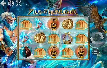 Zeus the Thunderer brings some wind, storm and lightnings! From Mr.Slotty game provider.
