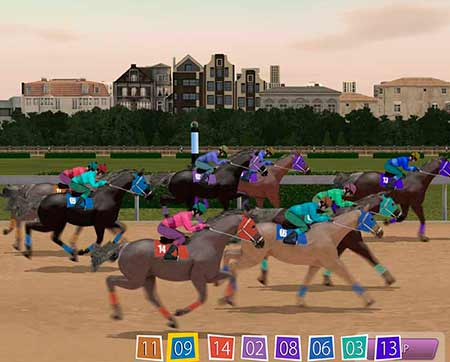 Horse Racing game in BetChain.