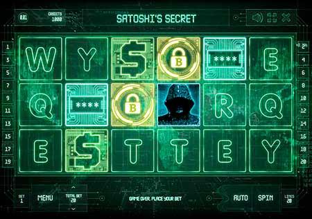 Satoshi's Secret Bitcoin slot game in BetChain