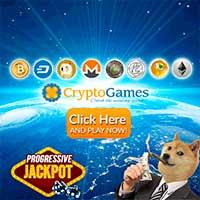 Crypto-games.net progressive jackpot logo