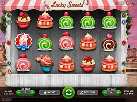 Lucky Sweet Bitcoin Casino game.