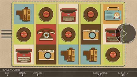 Cool Retromania crypto-slot game in mBit Casino.