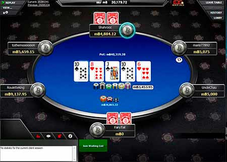 Real Dash Live Poker offered by Betcoin.ag. Choose for example Texas Holdem', Omaha or 7 Card Stud.