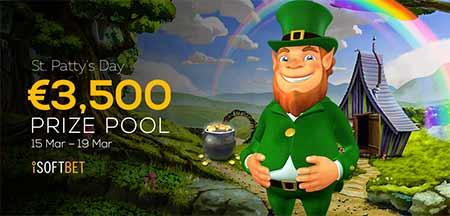 Saint Patricks day Bitcoin Promotion on FortuneJack