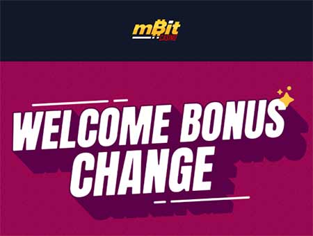 mbit casino welcome bonus
