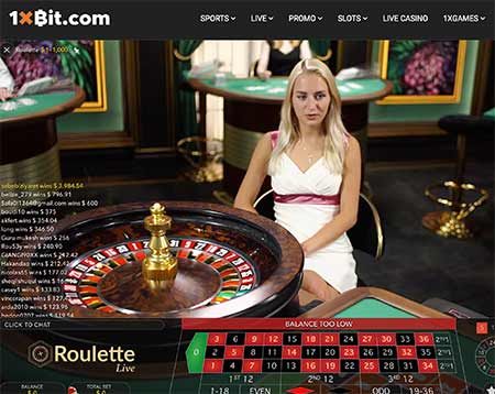 There is also live dealer casino games, for example here's Live Roulette.