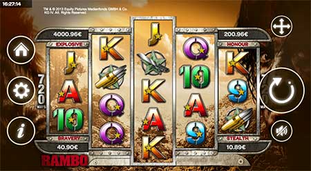 This is the casino game RAMBO which boasts some hefty and explosive Bitcoin jackpots! Read more from this 7Bit Casino review.