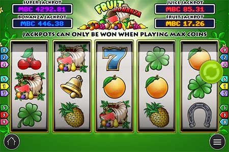 This is Fruit Bonanza slot game from Play n'GO game provider.