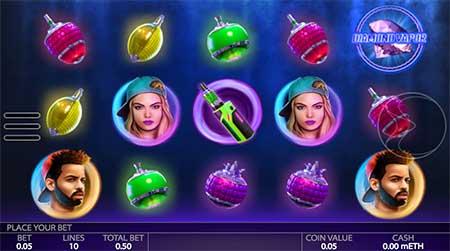 Diamond Vapor slot game from Endorphina.