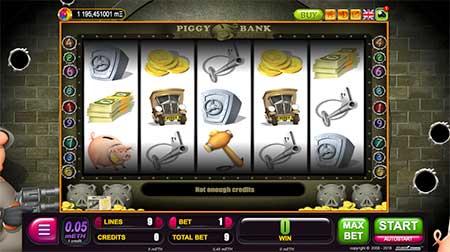 BetChain casino slot game called Piggy Bank from Belatra.