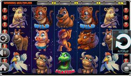 The casino slot game Year of Luck from Spinomenal.