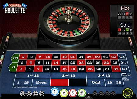 This is American Roulette from casino game provider Netent.