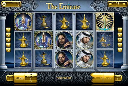 The Emirate slot game from casino game provider Endorphina.