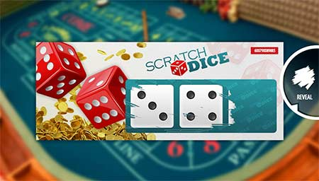 Scratch Dice game from Betsoft. This is a combination of ticket scratching and dice games.