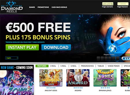 Diamond Reels Review 2020 Features Facts And Bonuses