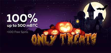 Great Halloween promotion at FortuneJack casino!