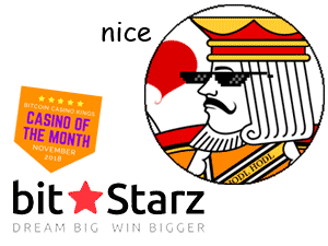 "The King approves BitStarz. ""nice"""