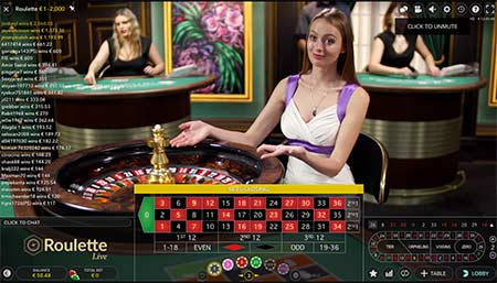 You can also play live Bitcoin roulette with live dealers. This example is live roulette by Evolution gaming from BitStarz casino.