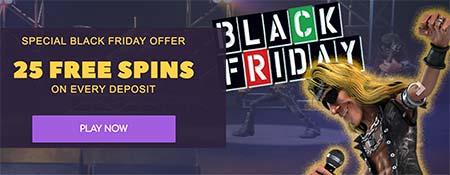 Black Friday Bitcoin casino deals at CryptoWild