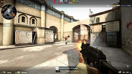 A screenshot of CS:GO (Counter-Strike: Global Offensive)