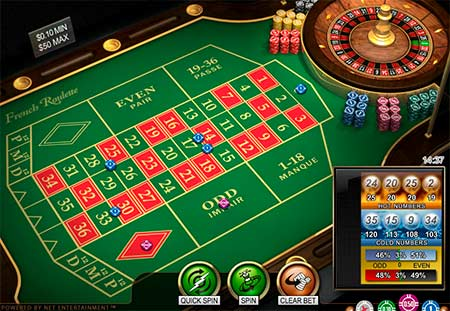 This is French (European) roulette from NetEnt game provider. Playable for example at FortuneJack casino.