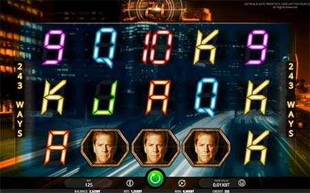 This is the official slot game 24 from game provider iSoftBet.