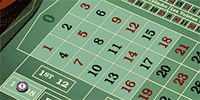 Roulette bet on 1 to 18