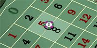 European roulette split bet