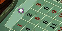 European Roulette bet on zero