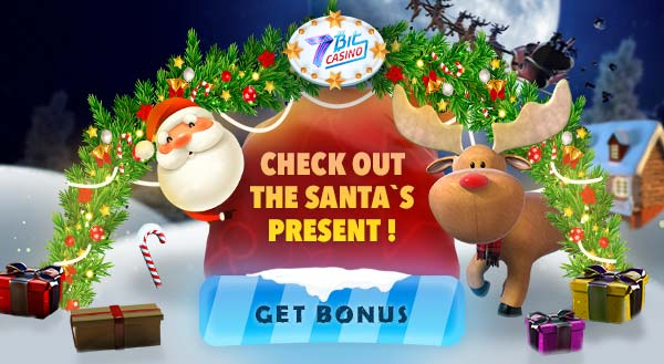 7Bit Casino Chrismas Bonus 2018