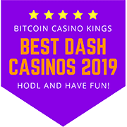 Dash Casino Sites (2019) - Best Dash gambling sites listed and reviewed!