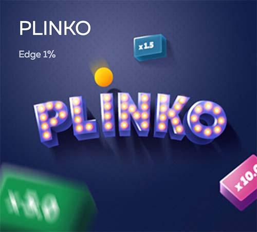 Plinko game at FortuneJack.